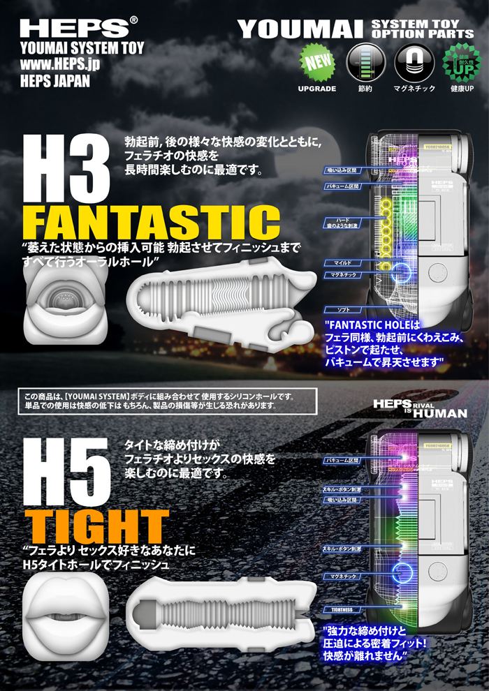 2HP-YSH03 FANTASTIC HOLE H3 (HEPS専用詰め替え用ホール)